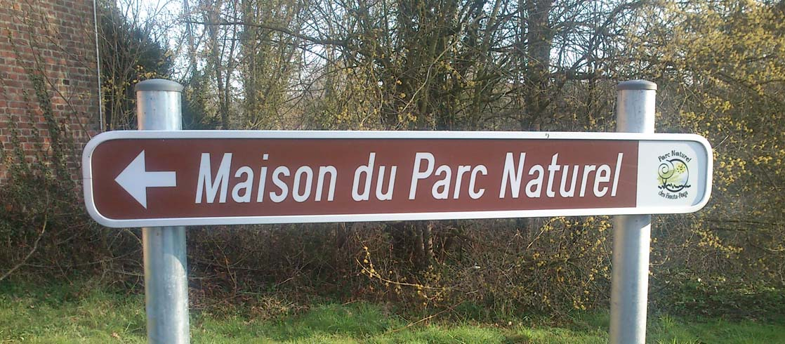 PANNEAU MAISON PARC
