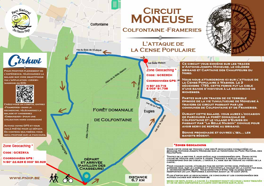 carte balade moneuse colfontaine frameries net