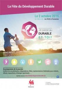 Fête du Développement durable @ LE PASS, Parc d'Aventures Scientifiques | Frameries | Wallonie | Belgique