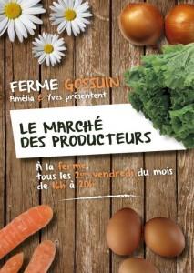 Marché à la Ferme Gossuin @ Ferme Gossuin | Dour | Wallonie | Belgique