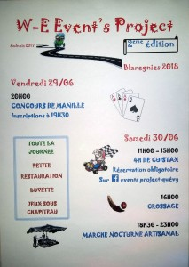 Week-end Event's Project @ Blaregnies | Blaregnies | Wallonie | Belgique