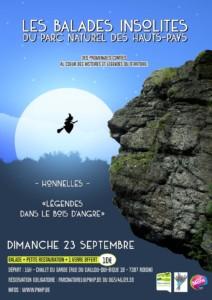 Balade insolite à Honnelles - COMPLET @ Chalet du Garde | Honnelles | Wallonie | Belgique