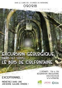 Balade géologique dans (et sous) le bois de Colfontaine @ Colfontaine | Wallonie | Belgique