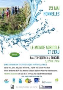 """Rallye pédestre """"Le monde agricole et l'eau"""""""