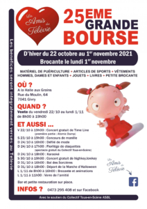 """Les Amis du Télévie """"25ème Grande Bourse"""" @ A la Halle aux Grains"""